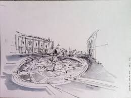 the campidoglio star in 10 minutes following le corbusier steps
