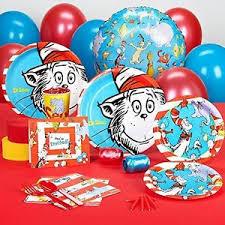 dr seuss party dr seuss party supplies standard party pack bundle for 8