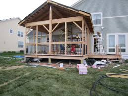 screen porch roof building a screen porch chuck hays