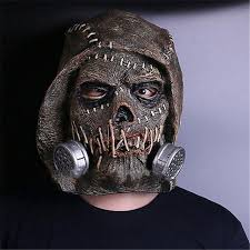 creepy mask batman arkham mask squad scarecrows masks dr