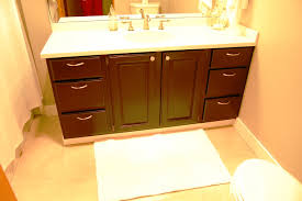 how to refinish a painted bathroom vanity u2014 jessica color