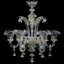 Murano Chandeliers Beautiful 6 Light Murano Chandeliers Made In Italy