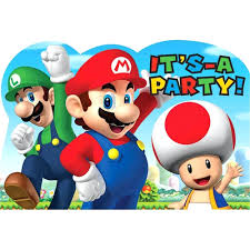 beach pail party favors super mario bros bingo 10 extra cards