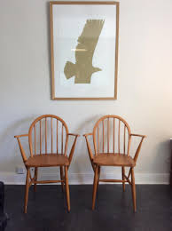 Ercol Armchair Vintage Ash Windsor Armchair By Lucian Ercolani For Ercol For Sale