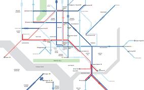washington dc metrobus map washington dc a subway style frequent map human transit