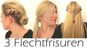 Einfache Frisuren Selber Machen Offene Haare by 3 Schöne Einfache Flechtfrisuren Alltag Schule Beruf