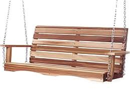 oversized porch swing bed cushions wooden swings 36664 interior