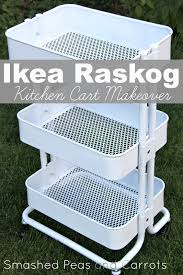 tutorial ikea raskog kitchen cart makeover smashed peas u0026 carrots