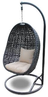 Enclosed Egg Chair Hanging Egg Chair With Stand Garden Furniture Pinterest