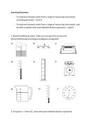 differentiated reading u0026 interpreting scales by fionajones88
