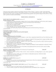 Resume For Food Service Job by Qa Manager Resume Berathen Com