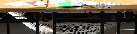nap desk sweet desk hammock lets you take a nap in a snap inhabitat