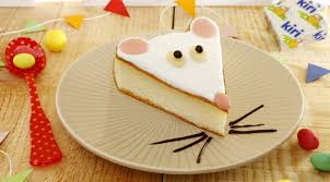 fr recette de cuisine recette gâteau au fromage kiri la souris kiri dessert rigolo
