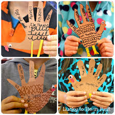 thanksgiving art project linky archives lucky to be in first