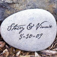 personalized garden stones personalized stones garden s gifts