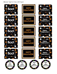 Halloween Gift Bag by Halloween Printable Goodie Bag Tags U2013 Festival Collections