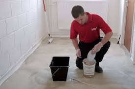 Cement Floor Paint How To Paint A Concrete Floor Watco Youtube