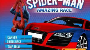 spiderman car racing games for kids gry dla dzieci video