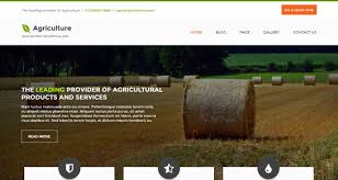 theme wordpress agriculture free agriculture wordpress themes for agri based agro websites