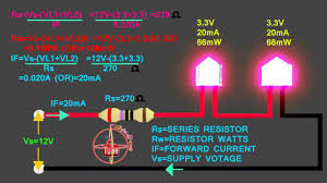 3 3v u00263 3v led how to connect 12v series circuit how to calculate
