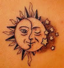 43 sun tattoos designs