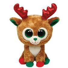 christmas reindeer ty beanie boos alpine plush christmas reindeer 2013 p68 ebay