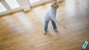 how can you remove wax from floors a solution