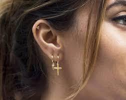 huggie hoop earrings huggie earrings etsy