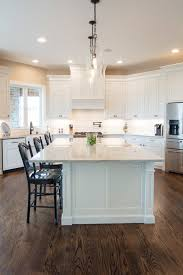 white kitchen cabinets wood floors white and wood modern farmhouse kitchen ideas pickled barrel