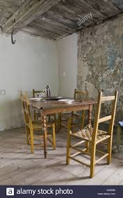 antique dining table and chairs in maison drouin ile d u0027orleans