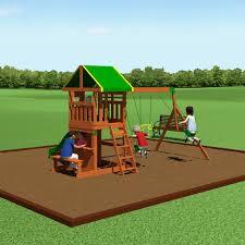 Wood Backyard Playsets by Oakmont Wooden Swing Set Playsets Backyard Discovery