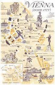 Austria Map Vienna Inner City Map My City I Will Always Love Vienna