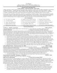 Operations Manager Resume Sample Resume General Manager Administration Templates