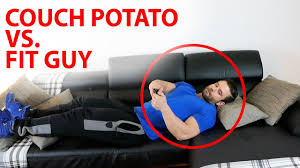 Couch Potato Tv Don T Be That Person Couch Potato Vs Fit At Home Youtube