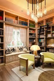 closet factory home library design