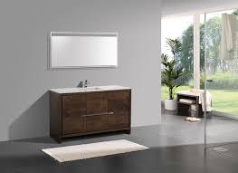 In Stock Bathroom Vanities by Kubebath Dolce 60 U2033 Single Sink Rose Wood Bathroom Vanity
