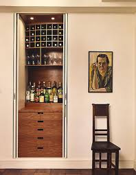 Built In Drinks Cabinet How To Create A Built In Home Bar