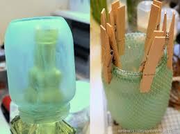 homework a creative blog etceteras diy faux sea glass jars