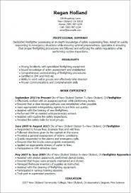 firefighter resume templates firefighter resume template musiccityspiritsandcocktail