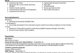 Railroad Resume Examples by Resume Help