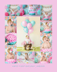 photos of baby u0027s first year cake smash