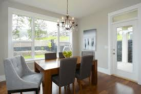 Dining Room Light Height by Girls Chandelier Grey Wood Dining Table White Slip Covered Dining