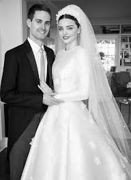 cheap wedding gowns miranda kerr s wedding dress an exclusive look at custom