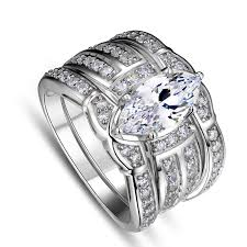american swiss wedding rings specials european and american atmospheric s925 silver inlaid rhodium