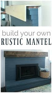 rustic mantels how to build fireplace mantels wood fireplace