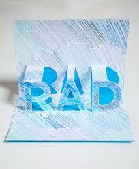 make a rad pop up card oh