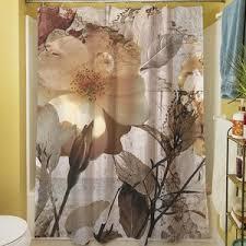 Botanical Shower Curtains Gray Silver Shower Curtains You Ll Wayfair