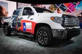 american toyota toyota shows off the new tundra at the detroit auto show houston