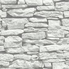 arthouse vip moroccan white stone wall brick rustic wallpaper