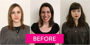 hairstyle makeovers before and after hair contouring makeovers before and after highlights make hair